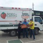 Donación para 100 familias de la UE de Fermín Vera Rojas