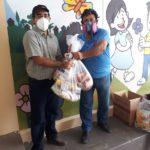 Donación para 15 familias de la UE de Sagrada Familia de Nazareth